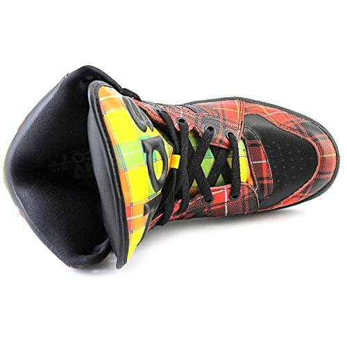 cheap wholesale price buy cheap comfortable Adidas Originals ObyO JS Jeremy Scott Instinct Hi Plaid Tartan Q23667 Men's Shoes get authentic online 2014 new EV7tOR