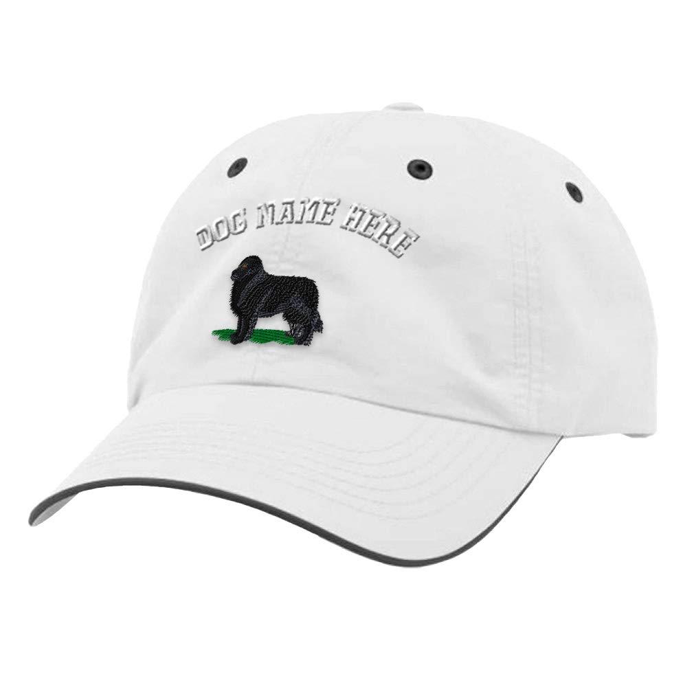 Custom Richardson Running Cap Newfoundland Embroidery Dog Name Polyester Hat