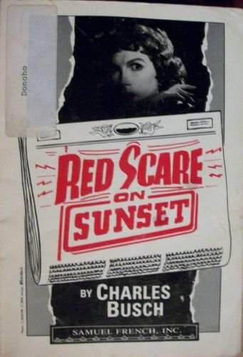 Red scare on sunset