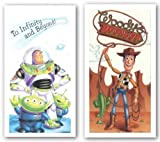 Buzz and Woody Set by Walt Disney 24'x12' Art Print Poster