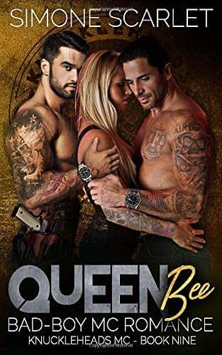 Queen Bee: A Bad-Boy Military MC Romance (The Knuckleheads MC)