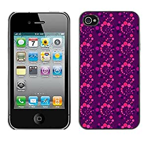 ZECASE Funda Carcasa Tapa Case Cover Para Apple iPhone 4 / 4S No.0002990