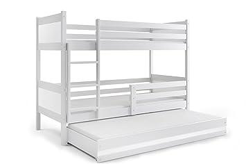 3 Etagenbett Für Drei Kinder : Kinder doppelstockbett hochbett mit treppe etagenbett max