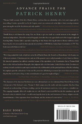 Patrick Henry: First Among Patriots: Amazon.es: Thomas Kidd: Libros en idiomas extranjeros