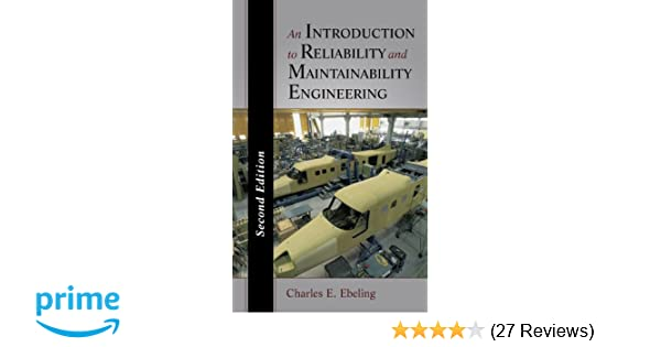 And maintainability an engineering pdf to introduction reliability