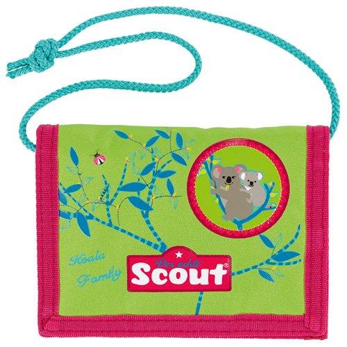Scout 25160077300 Brieftasche Fahrausweishülle, Grün