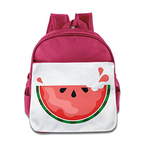 Price comparison product image CUIPO JUCPOI Kid's Backpack - Geek Sweat Watermelon Child School Backpacks School Bags For 2 - 4 Years Child Pink