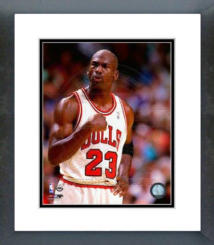 - Michael Jordan 1994-95 Fist Pump Framed Picture 8x10