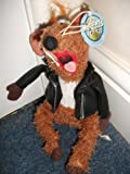 Nanco Jim Henson Muppets Show Rizzo the Rat in Motorcycle Jacket plush stuffed animal soft toy 14