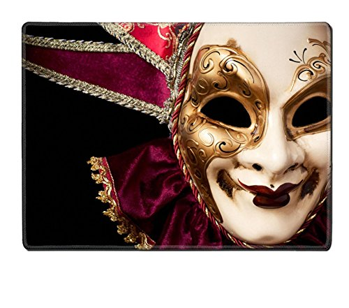 [MSD Placemat IMAGE ID 19315807 Carnival in Venice image with ample copyspace Isolated On black] (Venice Carnival Costumes Ideas)