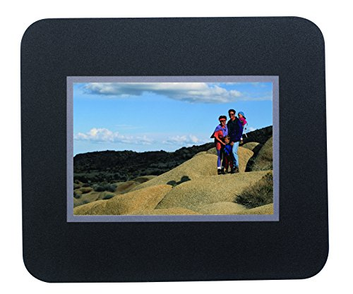 Photo Mouse Pad (Black and Silver) (Custom Pads Bar)