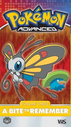 Pokemon 3: Advanced - Bite to Remember [VHS]