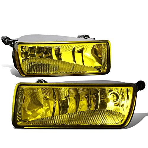 For Ford Explorer Pair of Bumper Driving Fog Lights (Amber Lens)