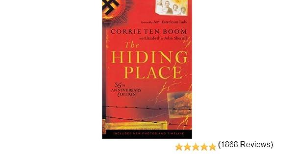 The Hiding Place 35th Anniversary edition by Corrie Ten Boom, Elizabeth Sherrill, John Sherrill 2006 Paperback: Amazon.es: John Sherrill: Libros