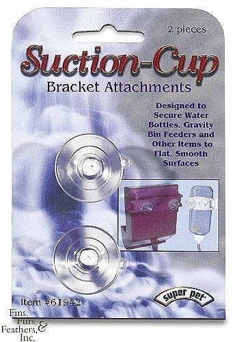 Super Pet Flat-Bac` Suction-Cups Snap-Lock Bracket Attachments (2 pack)