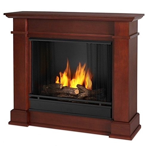 Real Flame Devin Gel Fireplace Dark Espresso 1220-DE