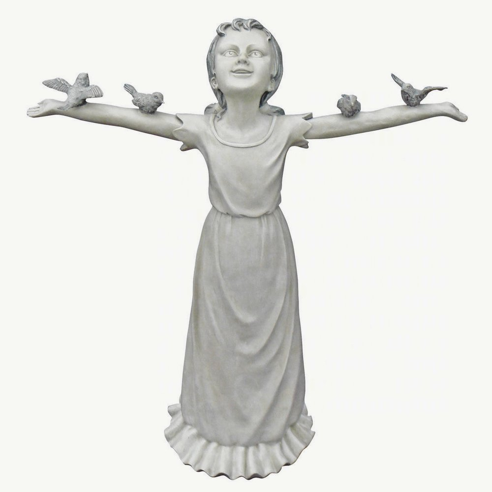 Design Toscano Basking in God's Glory Statue: Large