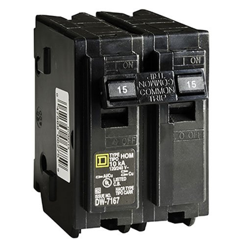 Square D by Schneider Electric HOM215CP Homeline 15 Amp Two-Pole Circuit Breaker by Square D by Schneider Electric (Image #2)