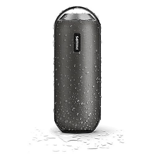 Philips BT6000B/37 Splash-Proof Bluetooth Portable Speaker