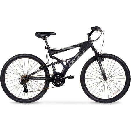 """26"""" Hyper Havoc Full Suspension Men's Mountain Bike, WMA-102605, Black"""