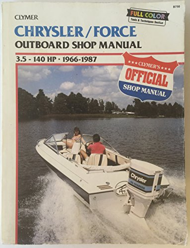 Chrysler/Force Outboard Shop Manual: 3.5-140 Hp, 1966-1988