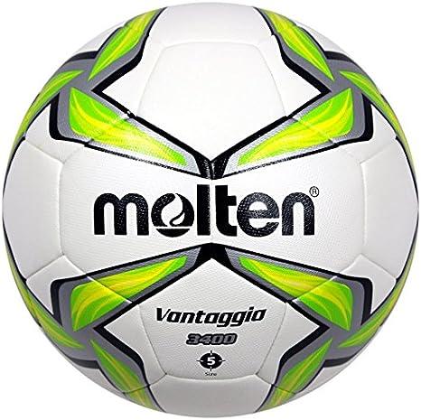 MOLTEN Uni f5 V3400 de G de fútbol, Blanco, 5: Amazon.es: Deportes ...
