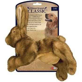 Pet Supplies : Pet Squeak Toys : American Classic Rabbit