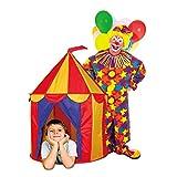 1 X Red Floor Circus Tent Indoor Children Play House Outdoor Kids Castle by POCO DIVO