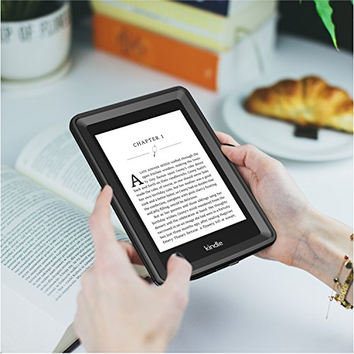 Temdan Kindle Paperwhite Waterproof Case Rugged Sleek Transparent Cover with Built in Screen Protector Waterproof Case for Kindle Paperwhite. by Temdan (Image #5)'