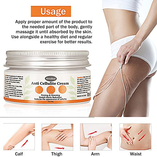 Anti Cellulite Cream, Slimming Cream, Anti-Cellulite Massager and Skin...