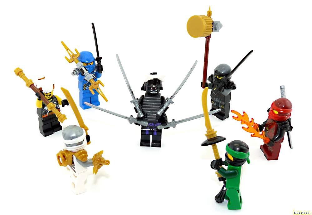 Lego Ninja Ninjago Sensei Garmadon Figur Meister grün Kämpfer Neu