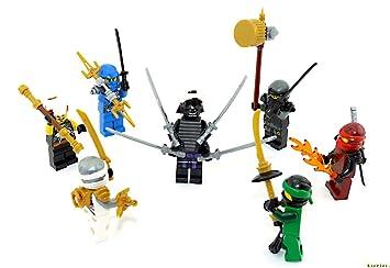 LEGO Ninjago - Juego de Figuras (7 Unidades) La Lucha contra ...