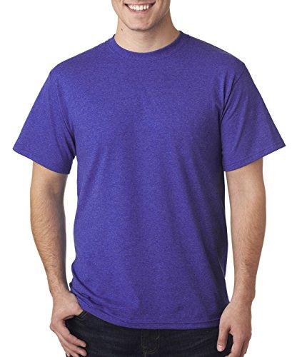 Fruit of the Loom 5 oz, 100% Heavy Cotton HD T-Shirt, XL, Retro HTH PURP ()
