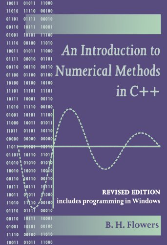 An Introduction to Numerical Methods in C++ by Oxford University Press