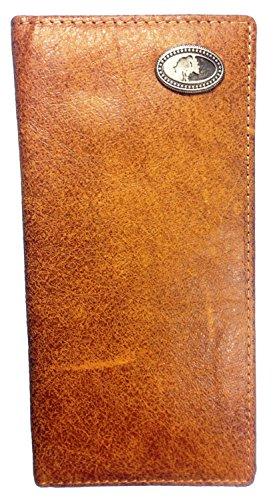 BT Outdoors Official Mossy Oak Western Style Wallet Official Mossy Oak Leather Bi-Fold -