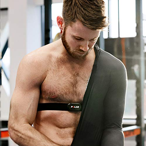 Polar H10 Heart Rate Monitor, Bluetooth HRM Chest Strap - iPhone & Android Compatible, Black by Polar (Image #4)