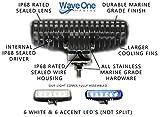 Wave One Marine   Dual Color   LED Marine Spreader