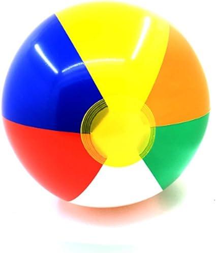 Ndier Bolas inflables de la Fiesta de la Piscina de la Bola de Playa para los niños Juego Divertido de la Agua en Verano Bolas de Piscina del Color del Arco Iris
