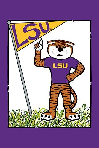 Collegiate Garden Flag (LSU Mascot) (Flags Collegiate Garden)