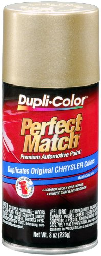Dupli-Color EBCC04017 Champagne Pearl Chrysler Perfect Match Automotive Paint - 8 oz. Aerosol