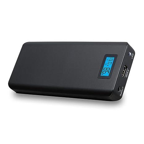 LIBOWER - Batería externa para portátil (15600 mAh, con 12 V ...