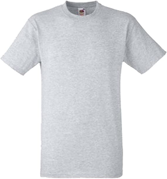 Fruit Of The Loom - Camiseta Básica gruesa de manga corta con ...