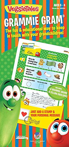 Used, Tabbies VeggieTales Grammie Grams, Ages 5-6, Includes for sale  Delivered anywhere in USA