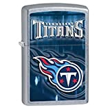 Zippo NFL Tennessee Titans Street Chrome Pocket Lighter