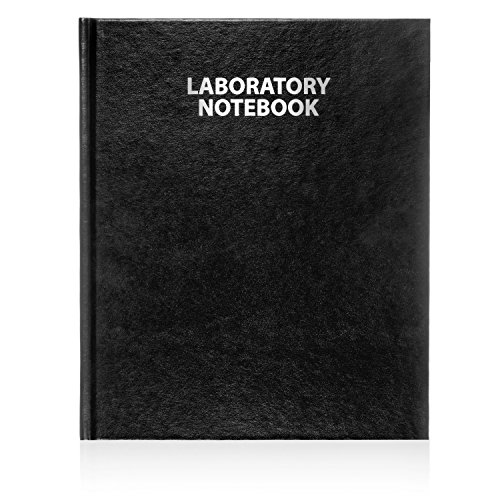 Scientific Notebook Company, Laboratory Notebook, 96 Pages 3001HC Black Hard Cover