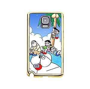 Classical Design Doraemon Phone Case for Samsung Galaxy Note 4 Personalised Doraemon Cartoon Phone Case Cover
