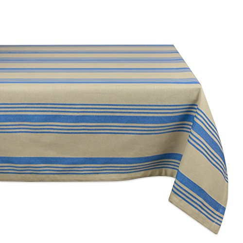 - DII 100% Cotton, Machine Washable, Dinner and Holiday Tablecloth 60x120