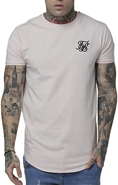 Sik Silk Camiseta Gym Rosa XL (X-Large): Amazon.es: Ropa y accesorios