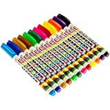 Dry Erase Whiteboard Markers - 12 Pack - Thin Style