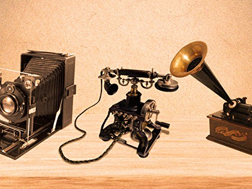 Cameras, Telephones, and Phonographs (First Telephone Made By Alexander Graham Bell)